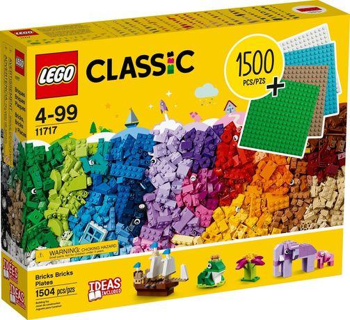 Lego Classic 11717 Klocki 1500 elementów + 4 płytki Wys24
