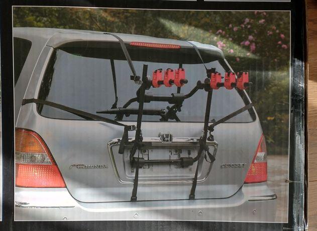 Bagażnik rowerowy na 3 rowery, na klapę