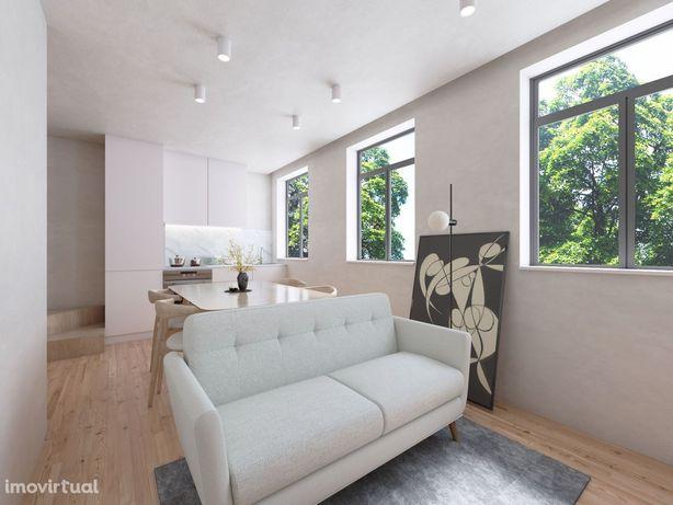 Apartamento T1+2 Duplex  Baixa do Porto
