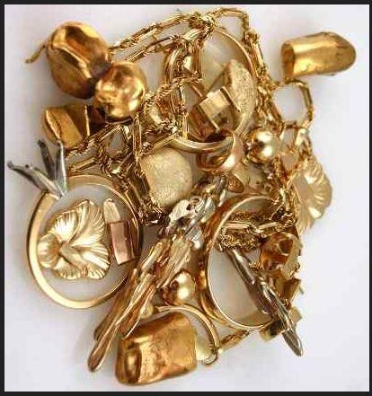Skupię złom złota 585 biżuteria