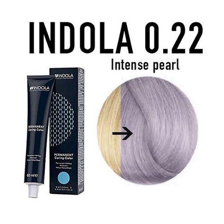 Indola краска платиновый блонд