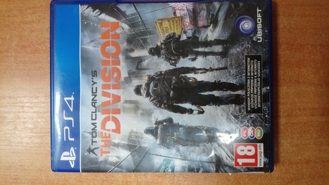 Gra tom CLANCY'S the DIVISION ps4