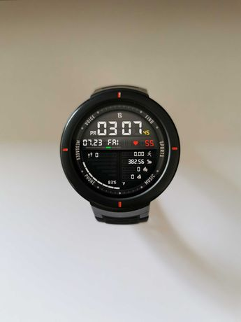 Smartwatch Xiaomi Amazfit Verge Cinzento (como novo)