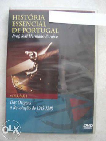 Vendo Coleção DVD História Essencial de Portugal