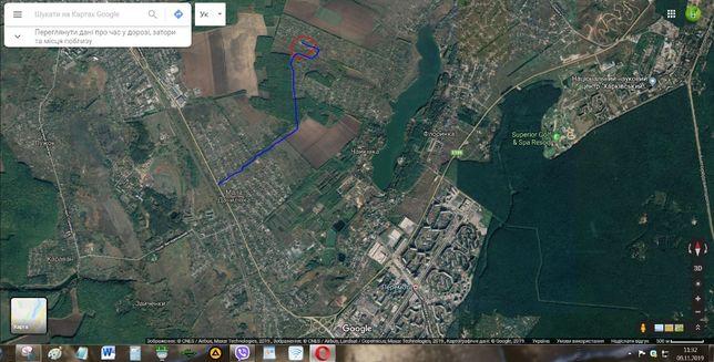 Срочно !!! Продам дачный участок от Алексеевки 7-8 км.