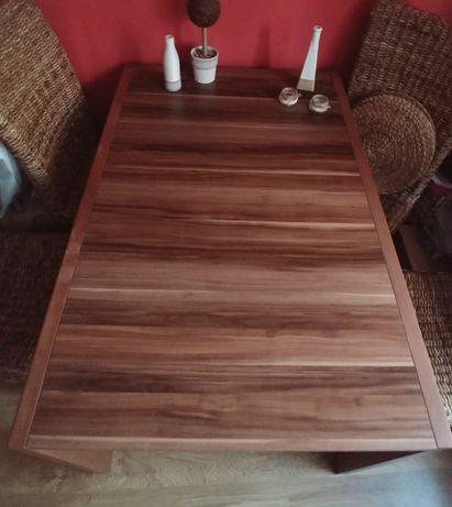 Stół BRW rozkladany 130/180 ×85×75, kolor śliwa wallis