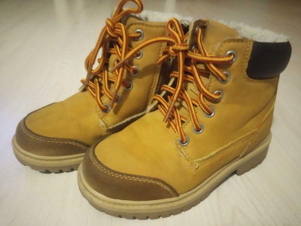 Buty zimowe ocieplane chłopięce