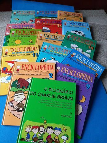Enciclopédia Charlie Brown  15 livros novos