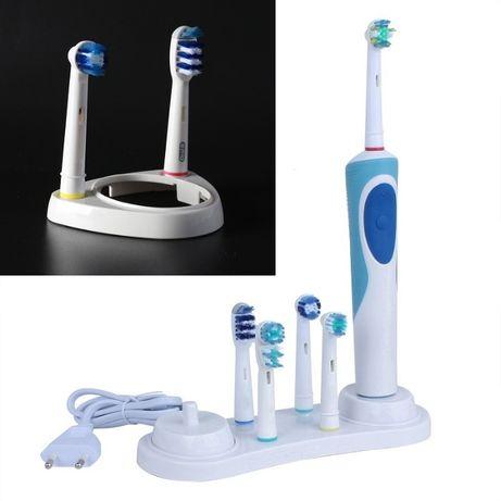 Подставка держатель для зубной щетки Oral-B и насадок
