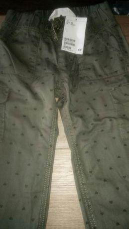 Ocieplane spodnie dla dziewczynki z HM