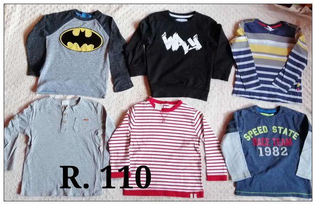 Wyprzedaż - koszulki chłopiec 104-110.