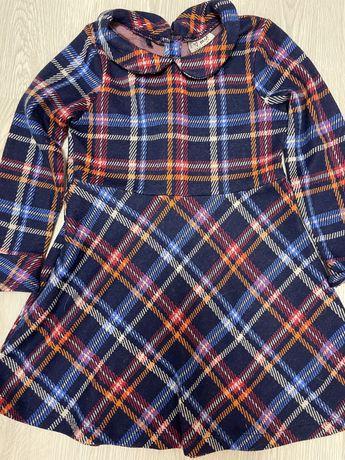 Теплое платье на 4/5 лет