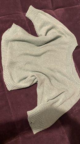 Moętowy sweterek S