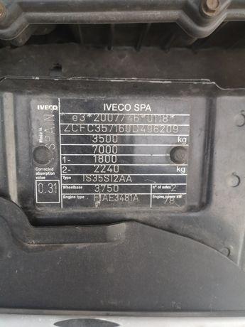 Sprzęgło dwumasowe i turbo  Iveco 2013 r 2,3