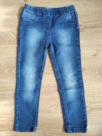 Spodnie jeansowe 110 F&F
