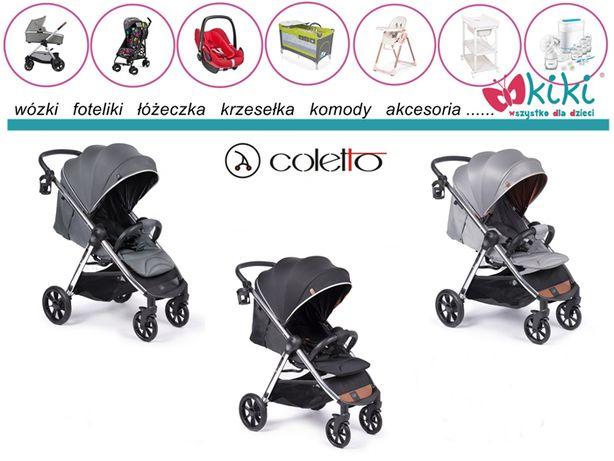 Coletto wózek spacerowy Jazzy srebrna rama