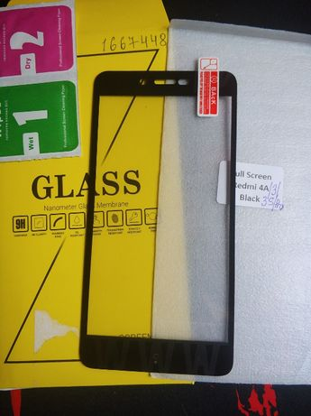 Защитное стекло Xiaomi Redmi 4A / 3 / 3S / 3 Pro / 3S Pro - 80грн.