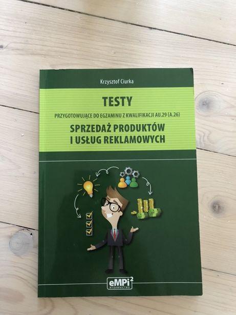 Ksiazka testy sprzedaż produktów i usług reklamowych