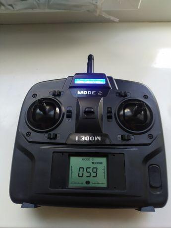 Пульт от вертолета . Радиоуправление Nine Eagles Heli J4 Pro 4 канала