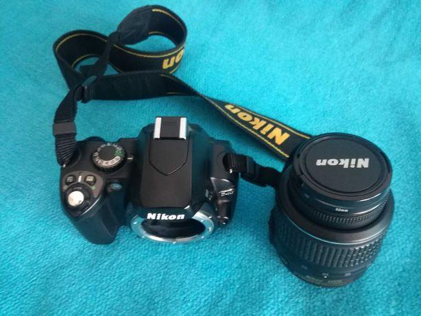 Pack Camara Nikon D40 + Objetiva Nikon DX 18-55+Bolsa+Filtros+Tripé