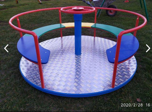 Karuzela na plac zabaw na publiczny i prywatny