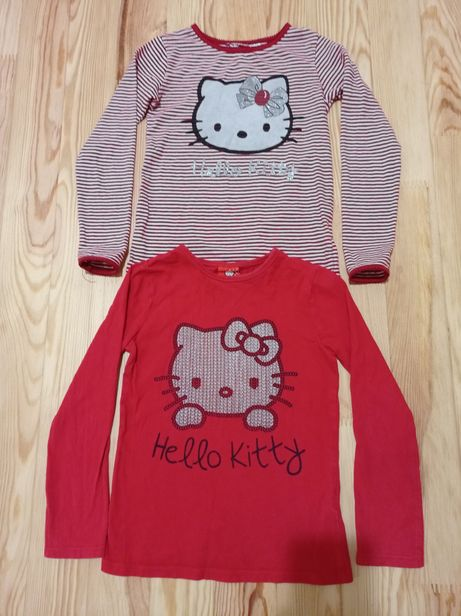 Регланы 2 штуки для девочки Hello Kitty р.122-128, б/у