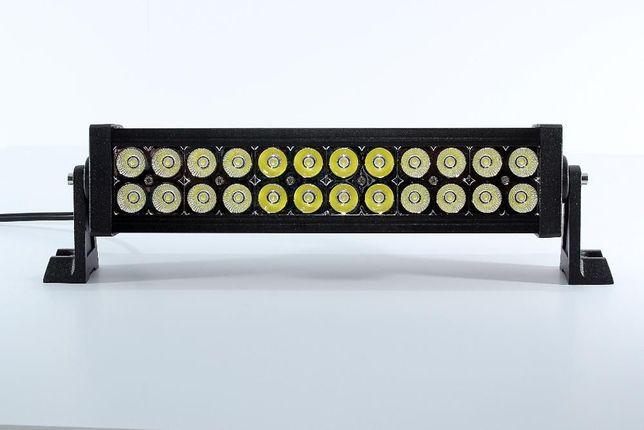 Barra Farol Projector Led 40cm de 72 watts 7224A com 6120 lumens