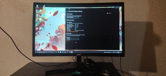 Acer 24 ed242qr 144 гц