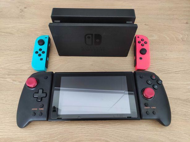Nintendo Switch CFW 128GB Przerobione Atmosphere + dodatkowe pady