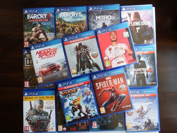 PS4 FIFA GOW Uncharted DAYS GONE Horizon MAFIA SACKBOY Metro DarkSouls