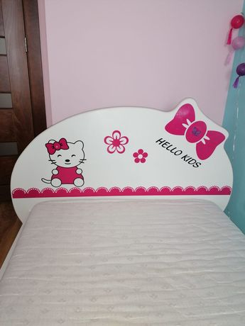 Łóżko Hello Kids gruby materac