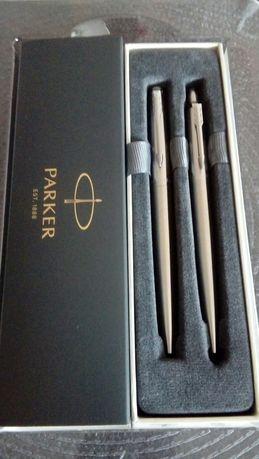 Zestaw Parker pióro + długopis