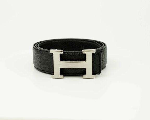 Cinto Hermès preto alto padrão