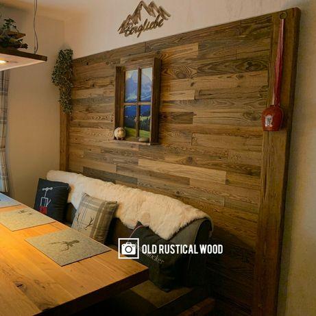 Stare drewno deski na ścianę z odzysku z rozbiórki stodoły wysyłka