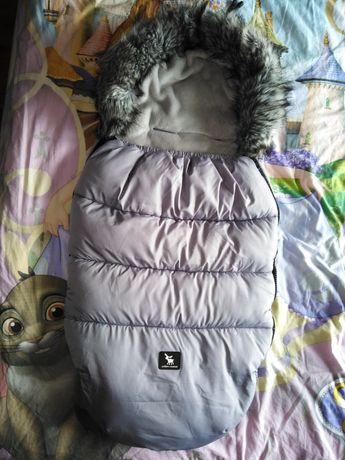 Śpiwór + mufka cotton moose