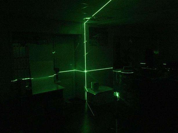 Лазерный уровень нивелир (планировщик) AL-FA ALNL02 Зеленый луч 50м!