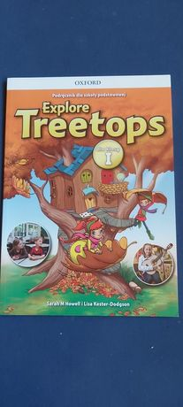 Explore Treetops NOWY podrecznik dla klasy 1 z płytą Cd
