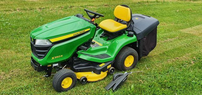 Kosiarka traktorek john deere x350r