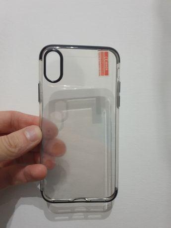 Capa Iphone X + Película de vidro