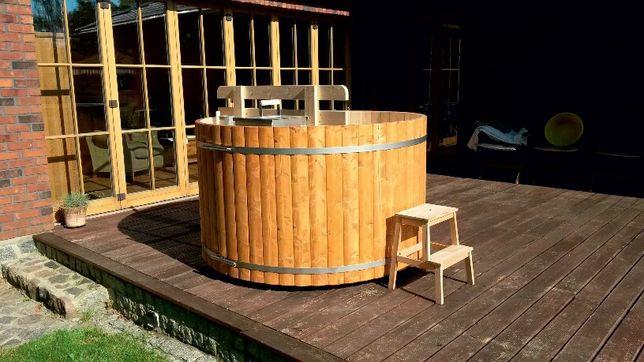 Balia wodna gorąca beczka najwyższa jakość, relaks w ogrodzie!