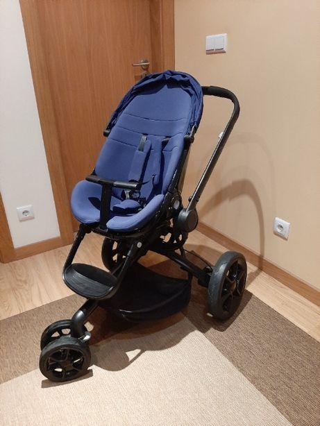 Carrinho de bebé Quinny Mood - Azul escuro