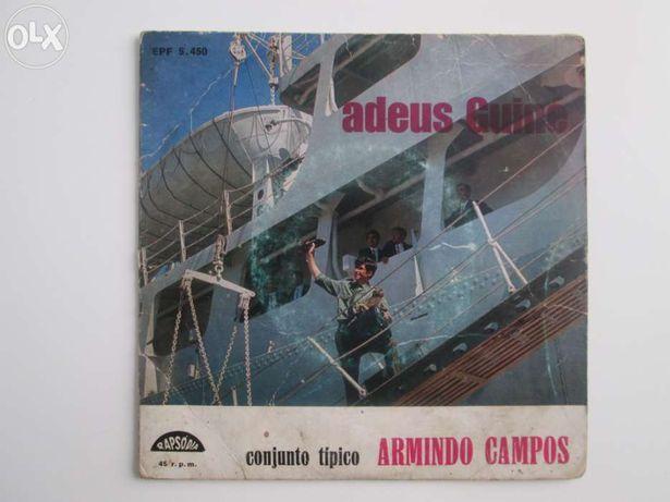 Vinil , Discos EP - Armando Campos - Adeus Guiné