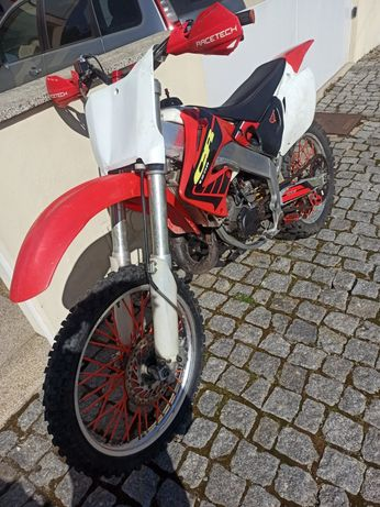 Honda cr 125cc 2t