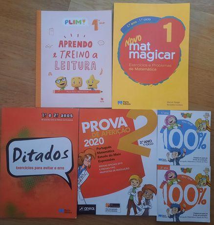 Livros do 1° ano e 2° ano