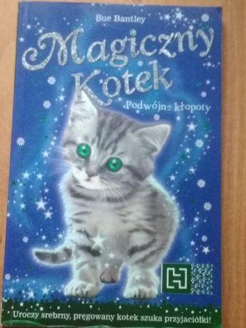 Magiczny kotek; podwójne kłopoty Sue Bentley