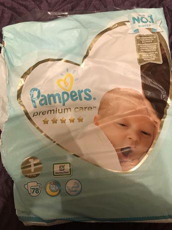Памперсы Pampers 2, Pampers Premium Care 1