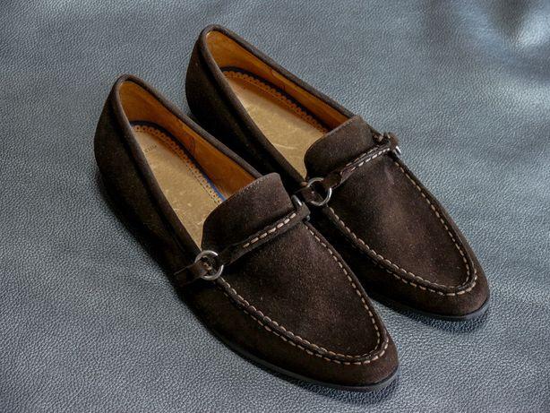 Замшевые мужские туфли Land's End оригинал