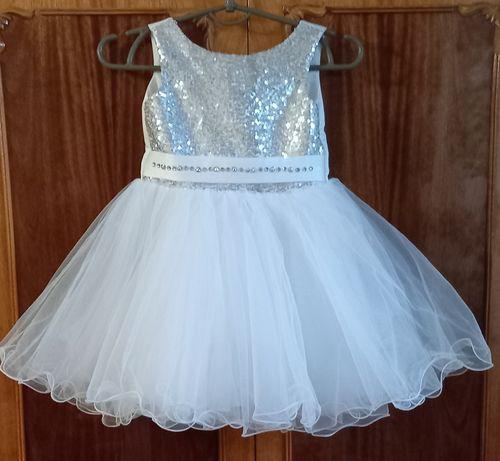 Снежинка платье прокат