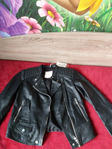 Курточка эко кожа. (Франция )