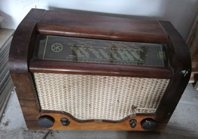 Radio retro,lampowe Aga 1948r, unikat, zabytek, chyba ze szwecji 199 z